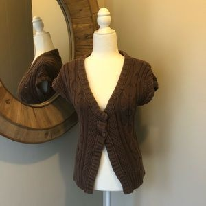MOSSIMO Cable Knit Cardigan